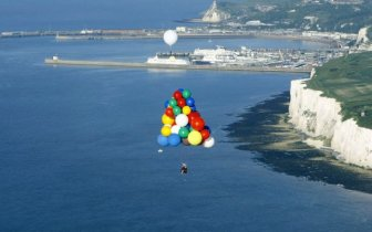 Helium Balloons Flight