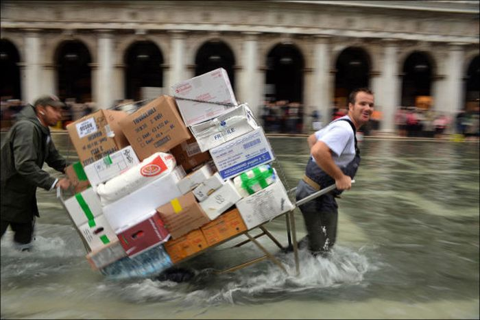 The Recent Flooding in Venice