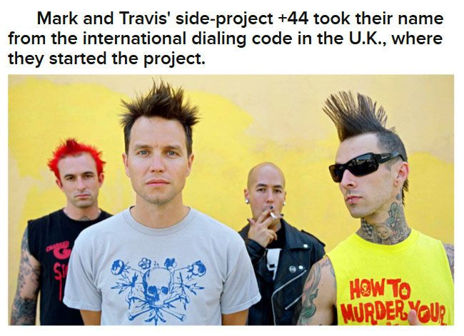 Interesting Facts About Blink-182
