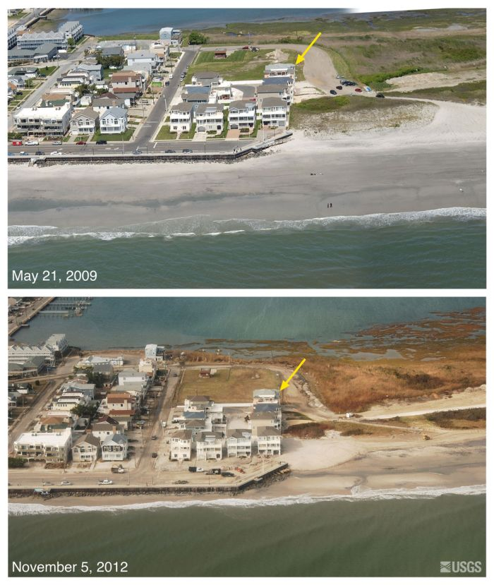Before-And-After Photos of Hurricane Sandy's Devastation