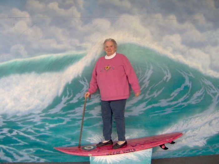 Old People Being Awesome