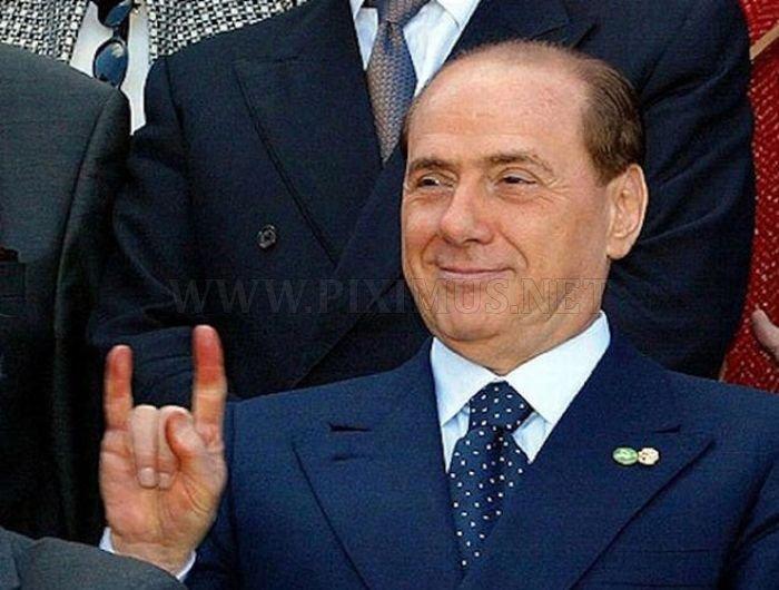 Silvio Berlusconi's Favorite Hand Gestures