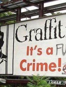 Billboards Enhanced By Graffiti