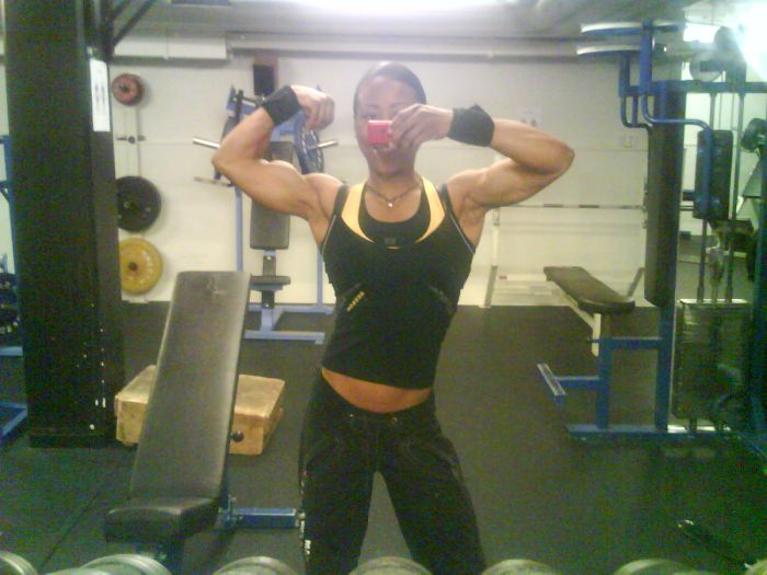 Erika Andersson of Swedish Special Forces