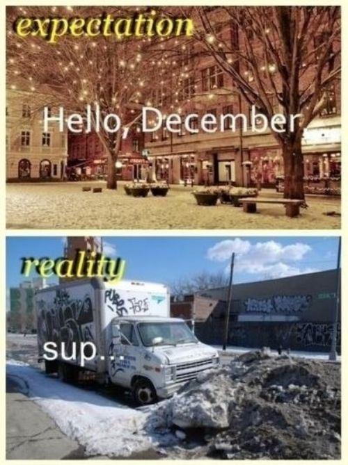 Expectations vs. Reality, part 3