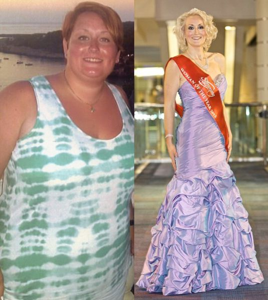 Before and After the Diet