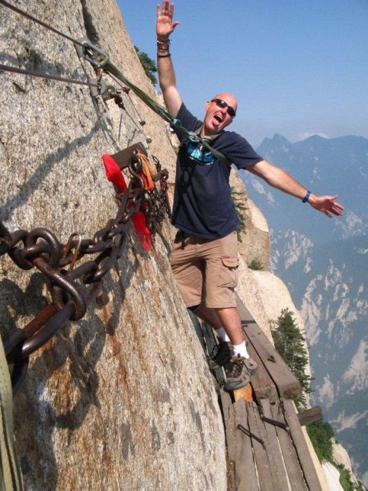 The Most Dangerous Hiking Trail in the World