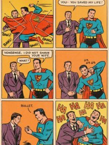 Superman to the Rescue