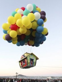 Up's Flying House In Real Life