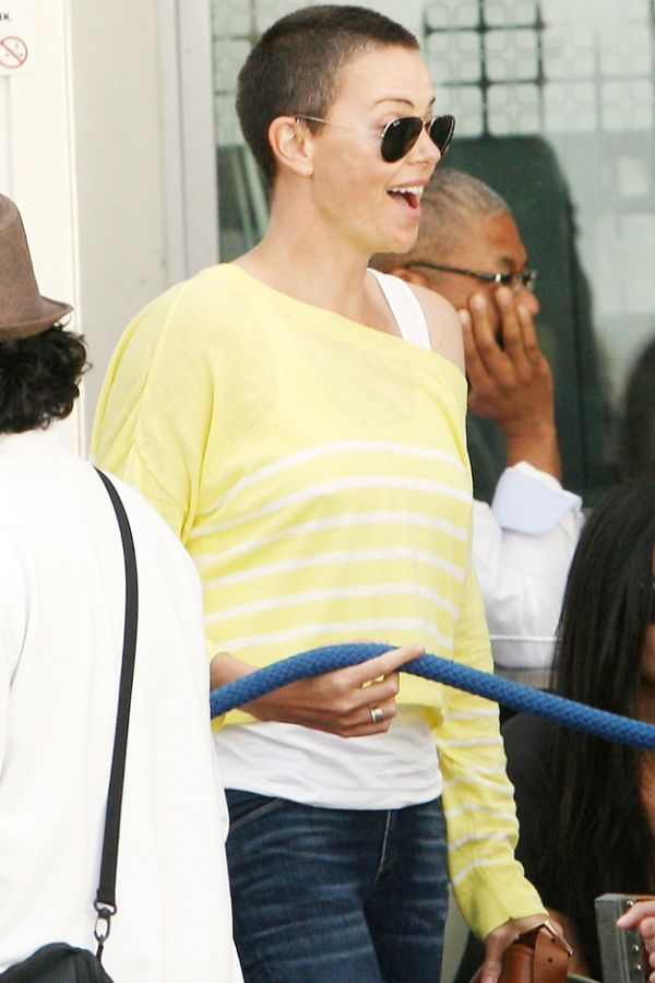Charlize Theron Has Shaved Her Hair