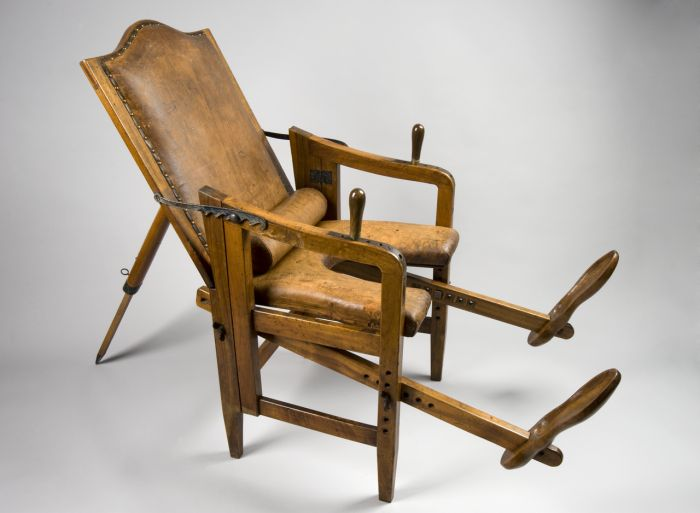 European Parturition Chairs, 1501-1800, part 15011800