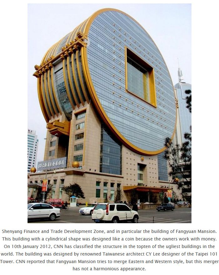 Crazy Buildings in China