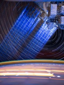 ISS Star Trails