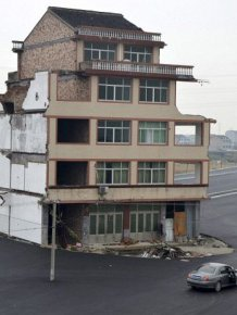 House in the Middle of a Motorway