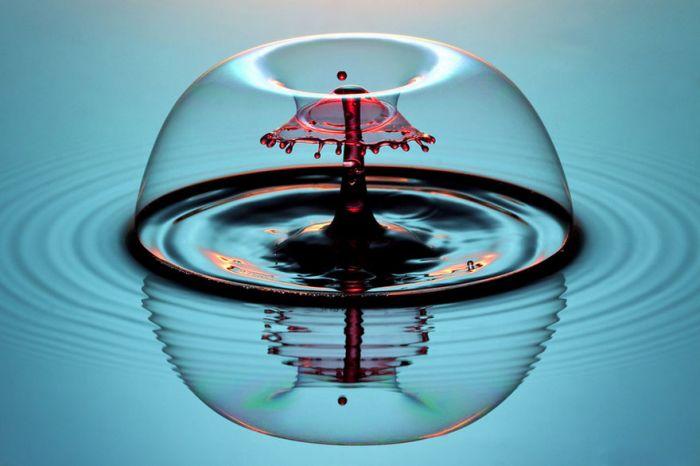 Liquid Drop Art by Corrie White