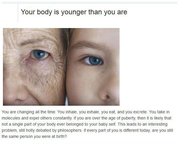 Things You Didn't Know About Yourself