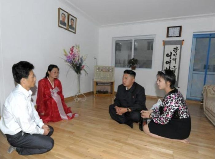 Propaganda Apartments in North Korea