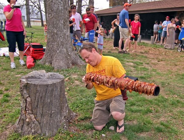 Ridiculous Bacon Bazooka