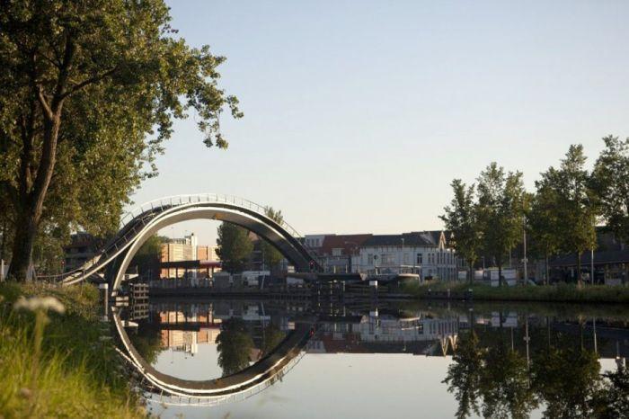 Melkwegbridge in Purmerend, Netherlands