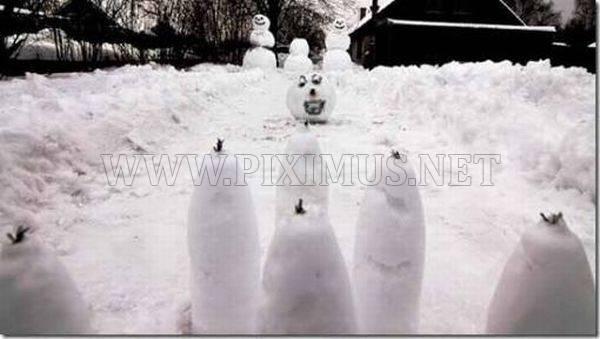 Hilarious Snowmen