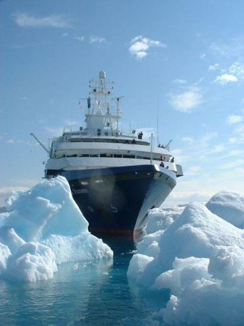 Abandoned Cruise Ship World Discoverer Others