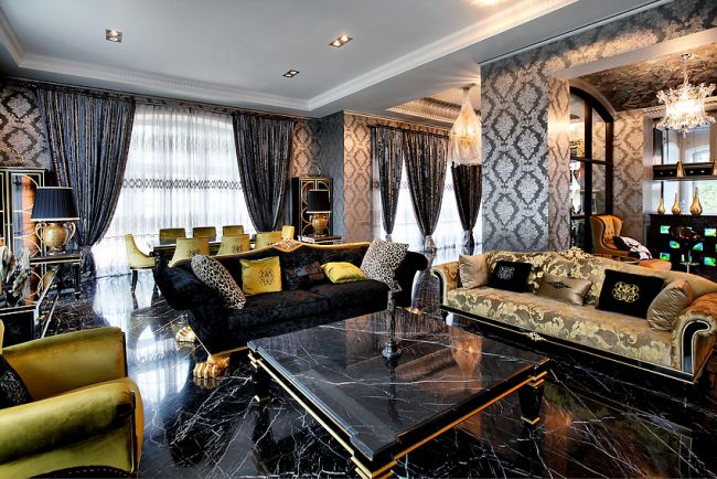 Homes of the Rich Russians