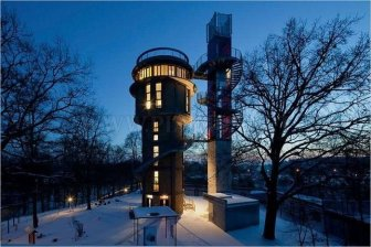 Incredible House Inside a Water Tower
