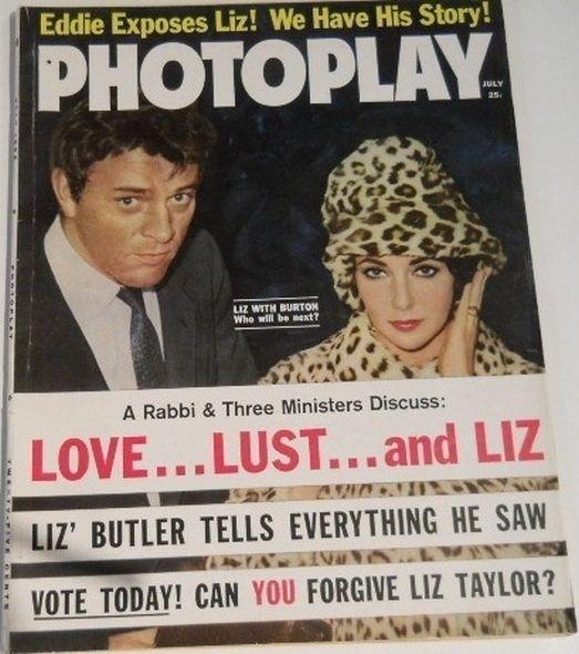 Elizabeth Taylor And Richard Burton Love Story Others