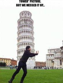 Hey Internet. Please Fix Our Pisa Photo