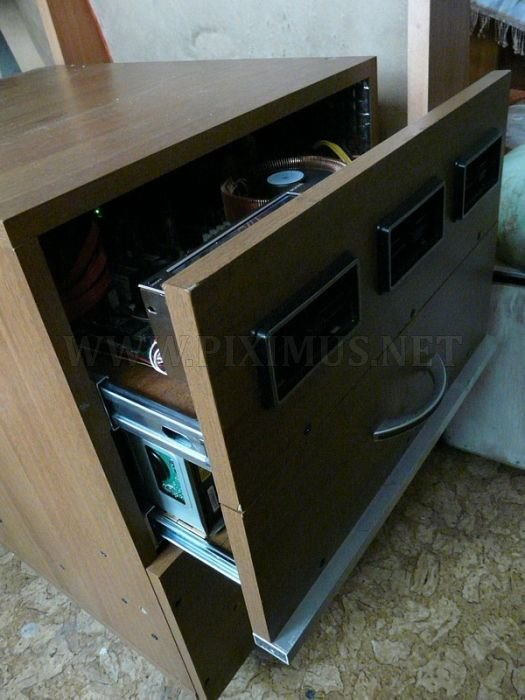Weird Nightstand Computer Case Mod