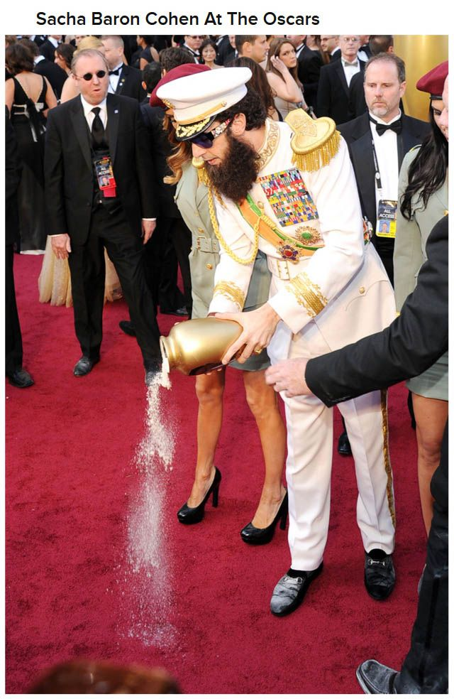 WTF Red Carpet Moments Of 2012, part 2012