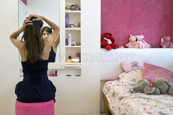 Girls and Their Rooms