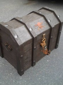 DIY Pirate's Treasure Chest Cooler