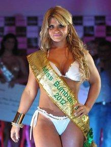 Photos of Carine Felizardo, Miss BumBum Brasil 2012