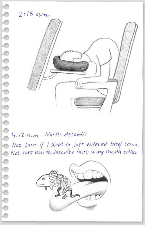 Flight from New York to Berlin