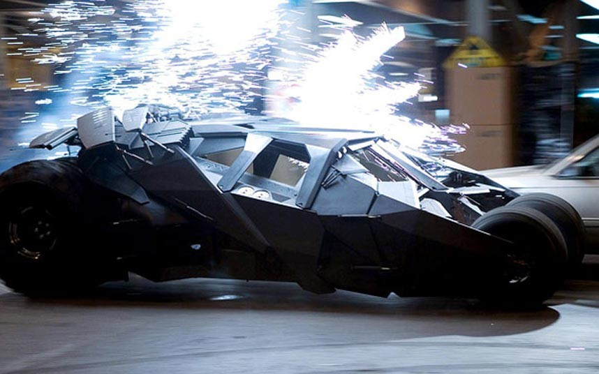 Supercars from Movies