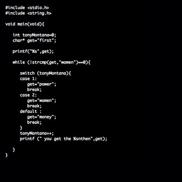 Movies as program code