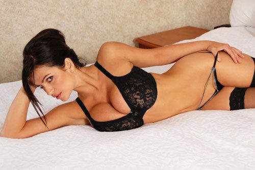 Hot girls in bed
