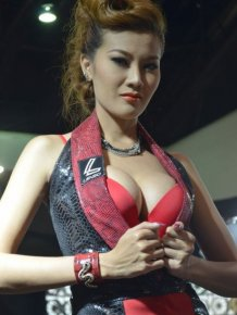 Girls of Thailand International Motor Expo 2012