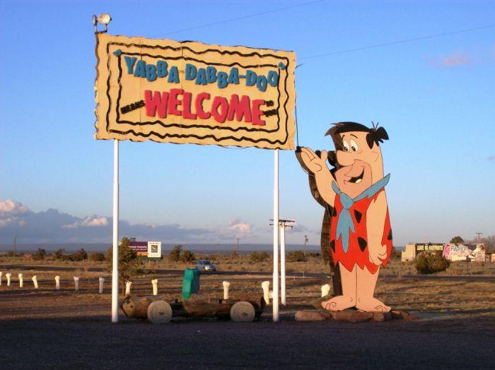 Abandoned Flintstones Amusement Park