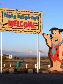 Abandoned Flintstones Amusement Park
