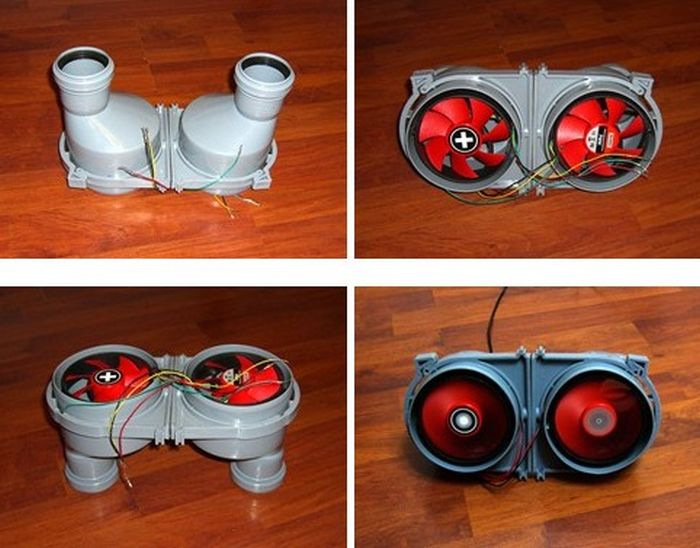 DIY Boot Dryer