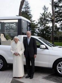 New Popemobile Mercedes-Benz ML