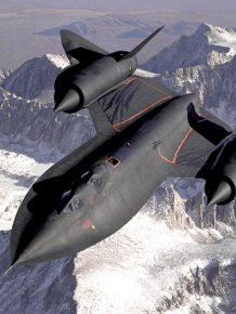 Lockheed SR 71 Blackbird - The Fastest Airplane in the World