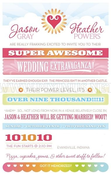 Funny and Creative Wedding Invitations