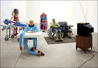 Retired and Old Superheroes