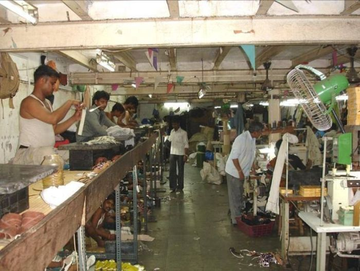 Production of Expensive Shoes in India