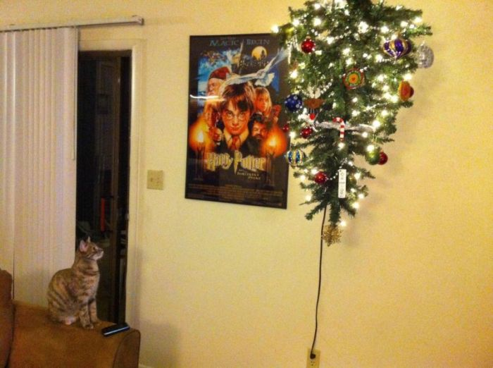 Anti-Cat Christmas Tree