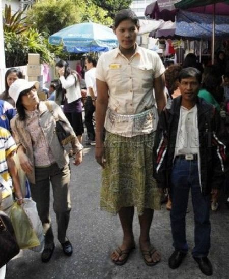 The World's Tallest Teen