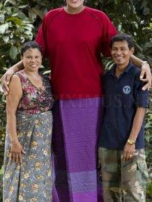 The World's Tallest Teen